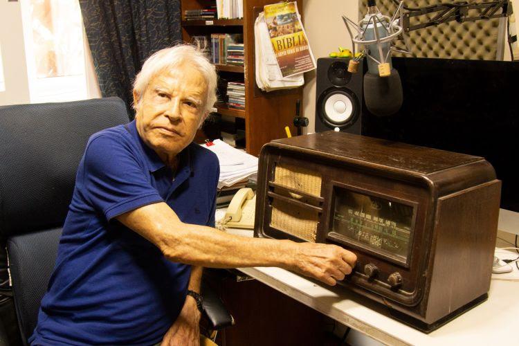 Cid Moreira lança sua rádio na internet